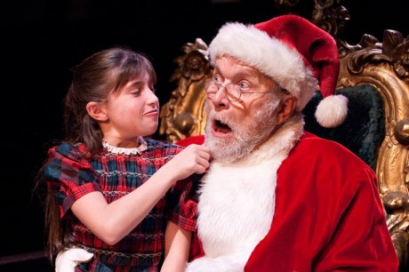 Susan (Sadie Herman) and Santa Claus (Robert Biederman).