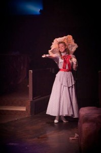 Laura Whittenberger as Mabel in Toby's Dinner Theatre's production of Pirates of Penzance. Photo courtesy of Kirstine Christiansen.