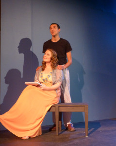Desiree (Beth Amann) and Josef (Justin Johnson) in Under the Poplar Trees