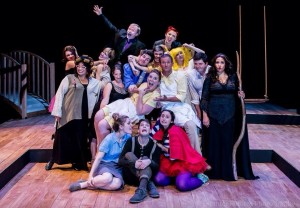 The cast of Purple Light Theatre Company's 'Into The Woods.' Photo by Brighter Future Photography.
