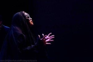 The Witch (Angela Sullivan). Photo by Brighter Future Photography.