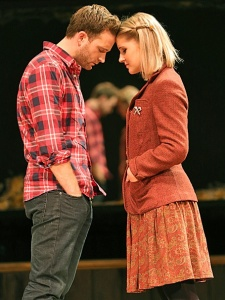 Stuart Ward as Guy and Dani deWaal as Girl.